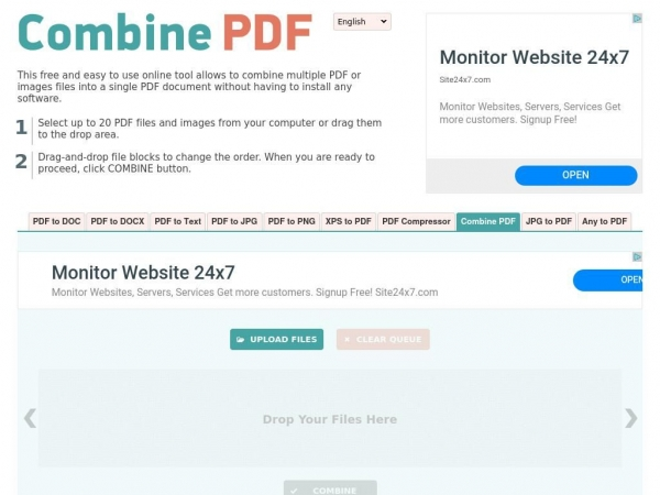 combinepdf.com