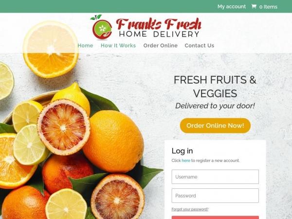 franksfreshdelivery.com